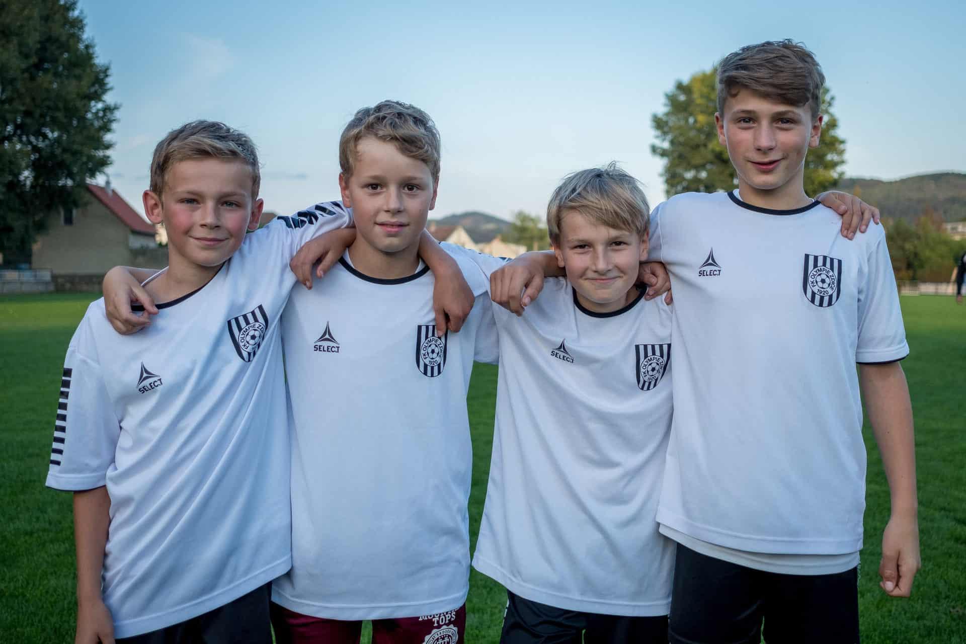 Olympie pořádá nábor nových fotbalistů!
